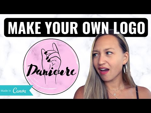 Make Your Own Business Logo EASILY for FREE (using Canva)
