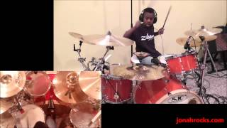 TOOL - Forty Six & 2, 9 Year Old Drummer, Jonah Rocks
