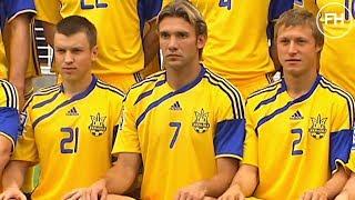 Збірна України Тренер Михайличенко і Шевченко гравець