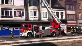 Brand in flatgebouw Bredabaan Merksem - Gazet van Antwerpen