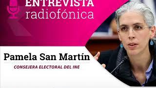 """Entrevista de Pamela San Martín con Loret sobre Fideicomiso """"Por los Demás"""""""