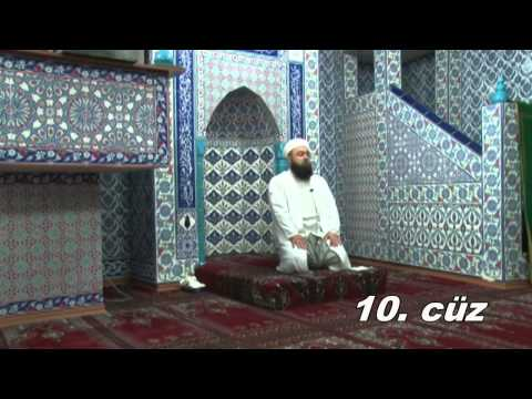 Fatih Medreseleri Masum Bayraktar Hoca Mukabele 10. Cüz