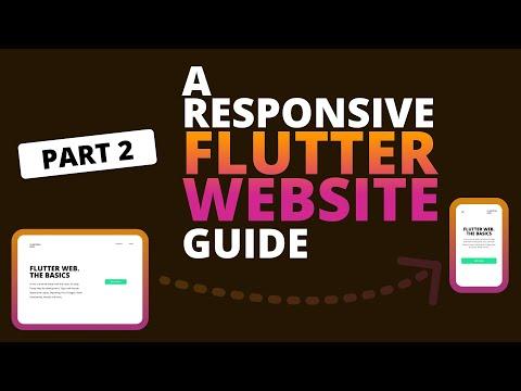 A Responsive Flutter Website Guide   Flutter Web Tutorial - Part 2