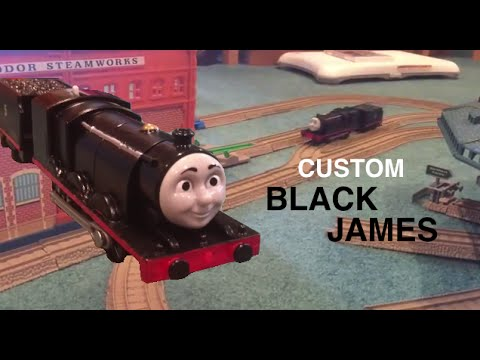 Custom Trackmaster ORIGINAL Black James