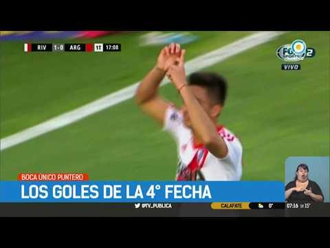Superliga | Los goles de la fecha 4