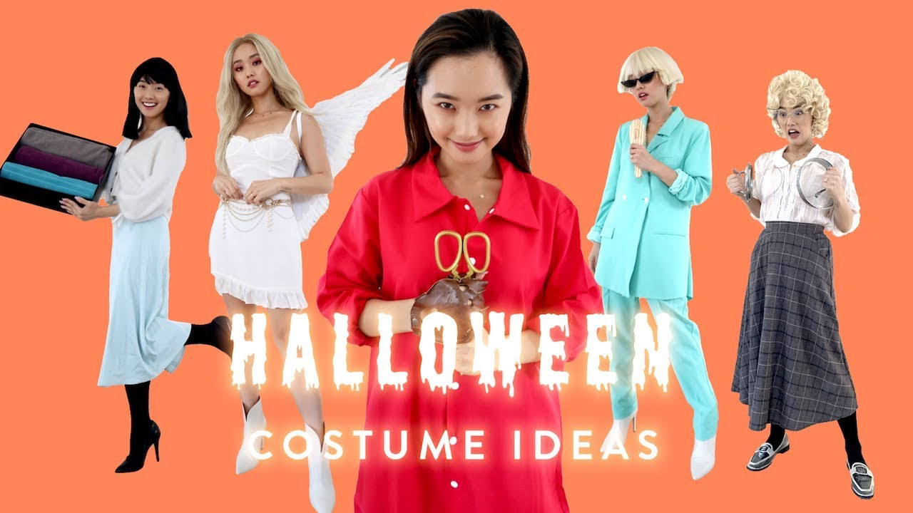 6 Easy Halloween Costumes That Are Actually Cool At Least For Me Lol