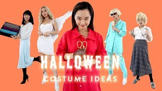 6 EASY HALLOWEEN COSTUMES THAT ARE ACTUALLY COOL (at least for me lol)