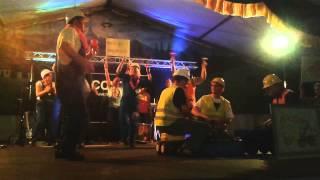 Volksfest Itterbeck ´13 BODO mit dem Bagger