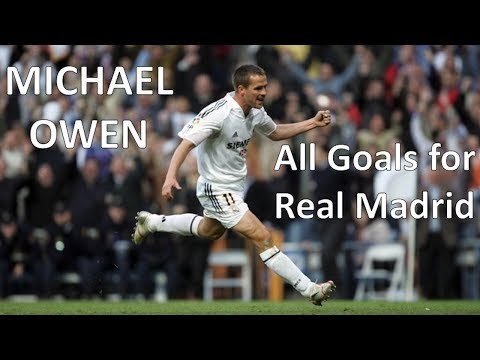 Michael Owen - All 16 Goals for Real Madrid
