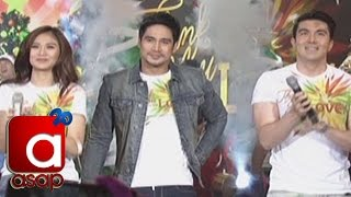 "ASAP: Sarah G, Piolo, Luis sing ""Thank You For The Love"" on ASAP"