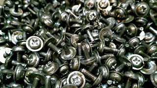 Wood Screw Bolts And Nuts Making Machine  ( 5 - Molds Bolt Former Machinery )