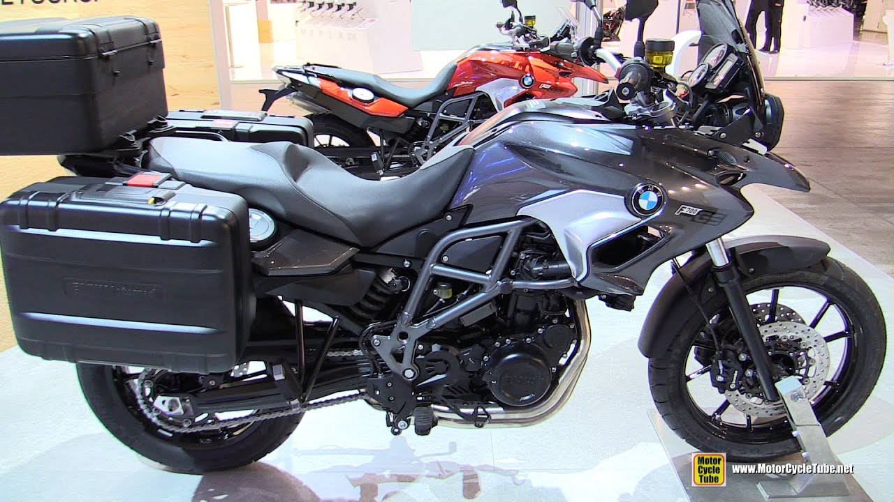 2016 bmw f700gs walkaround 2015 eicma milan youtube. Black Bedroom Furniture Sets. Home Design Ideas