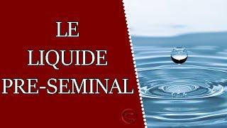 Le liquide pré-séminal et pré-éjaculatoire