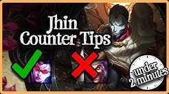 How Jhin Works (Under 2 Minutes)