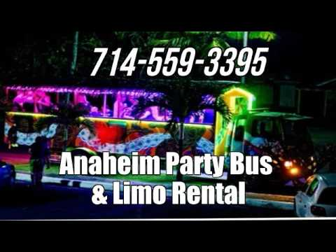 Best Limo & Party Bus Rental in Anaheim, CA