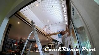 Un Filet Mezzanine D Interieur France Trampoline Youtube
