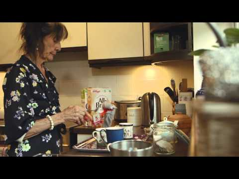 Roger and Elaine Visit Grandma featuring June Brown