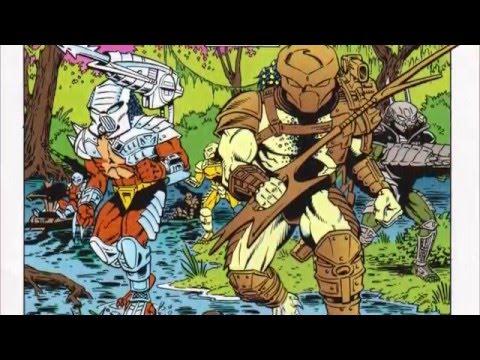 Aliens Vs Predators: A Hunting Game Comic Book Story