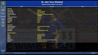 Chelsea Squad and Key Player Overview 2003/2004 Season - Championship Manager
