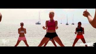 Energii Ibiza NIA classes on the beach