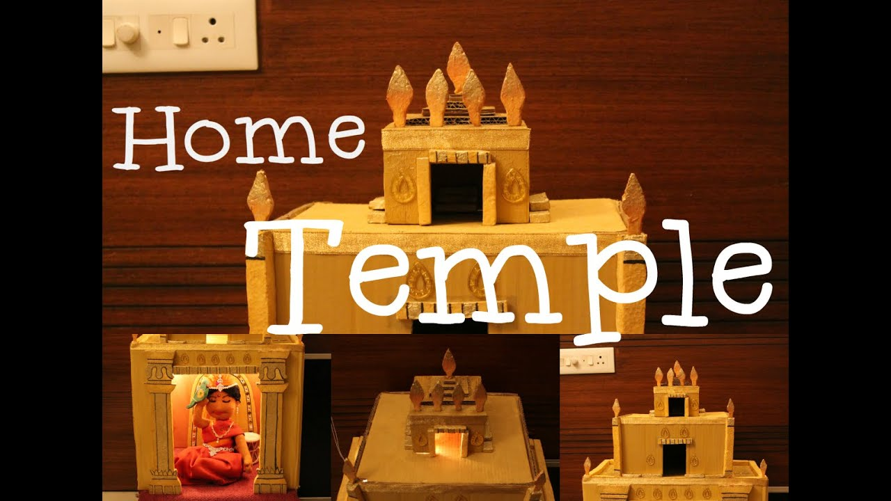 building a home temple youtube