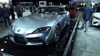 Новая Toyota Supra A90: Премьера В Детройте 2019