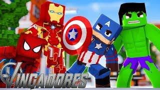 AVENGERS NO MINECRAFT! (MOD)