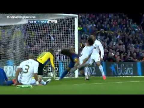 Sami Khedira's Goal , Barcelona vs Real Madrid 21/4/2012