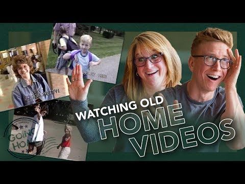 reacting to childhood home videos (ft. Queen Jackie)