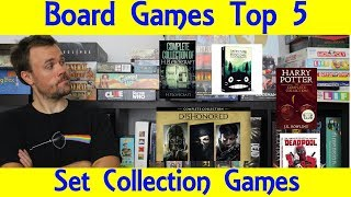 Top 5 Set Collection Board Games