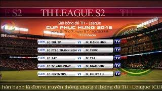 Trực tiếp TH League S2 2018 - Vòng 2 [FC Juventus vs FC Lucky Thanh Hà]