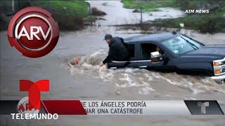 Ruptura de represa de Los Angeles desataría una catástrofe | Al Rojo Vivo | Telemundo