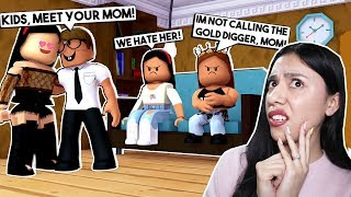OUR NEW MOM IS A GOLD DIGGER! - Roblox Roleplay