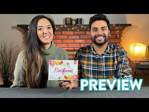 Floriferous - Kickstarter Preview & Tutorial