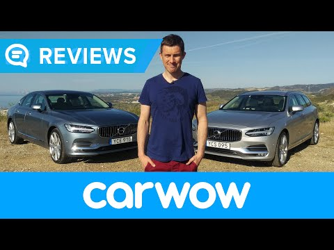Volvo V90 Estate and S90 Saloon 2017 Review | Mat Watson Reviews