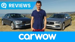 Volvo S90/V90 2018 launch review | Mat Watson Reviews