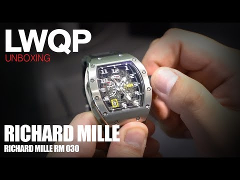 UNBOXING - Richard Mille RM 030