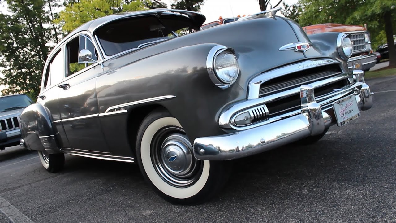 1951 Chevrolet Styleline Deluxe 4 Door Sedan in Shadow Gray : styleline doors - pezcame.com
