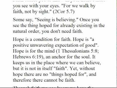 What True Faith Is