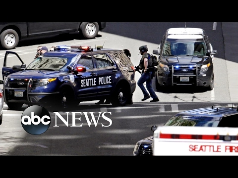 2 police officers shot in Seattle