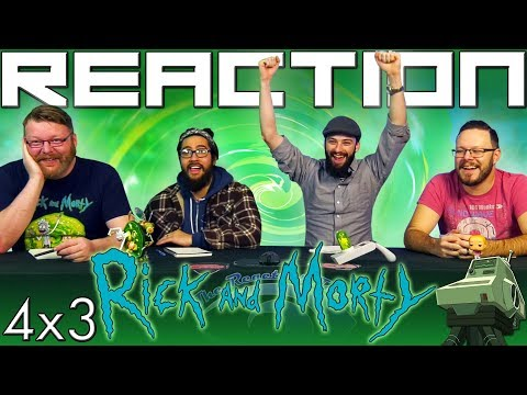 """Rick And Morty 4x3 REACTION!! """"One Crew Over The Crewcoo's Morty"""""""