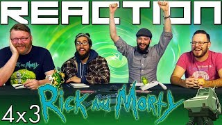 "Rick and Morty 4x3 REACTION!! ""One Crew Over the Crewcoo's Morty"""