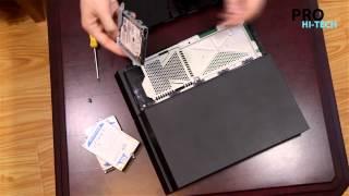 Как поменять жесткий диск в PS4 (HDD или SSD) PRO Hi-Tech