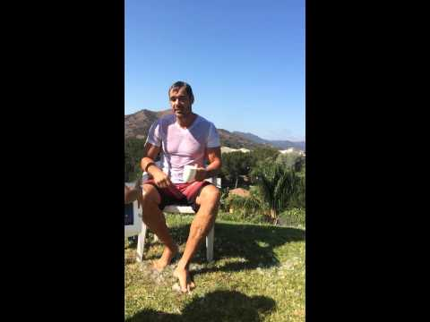 ALS ice bucket challenge  Dan Payne