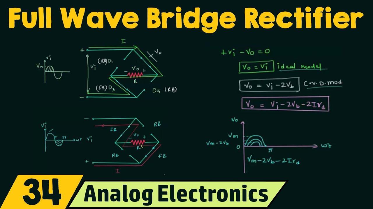 Full Wave Bridge Rectifier Pdf