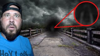(Banned Video) Ghost Pushes Me On Haunted Bridge | OmarGoshTV