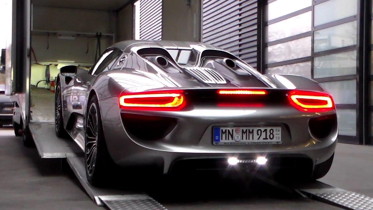 Porsche 918 Spyder Electric Mode Hd