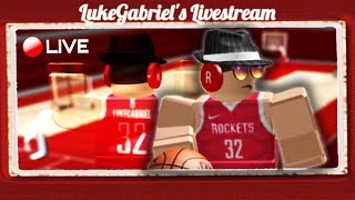 Working on Games for My New ROBLOX Group (Tournament Basketball Group)