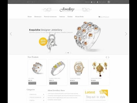 How to install Jewellery Pretashop Theme(PRS060138)
