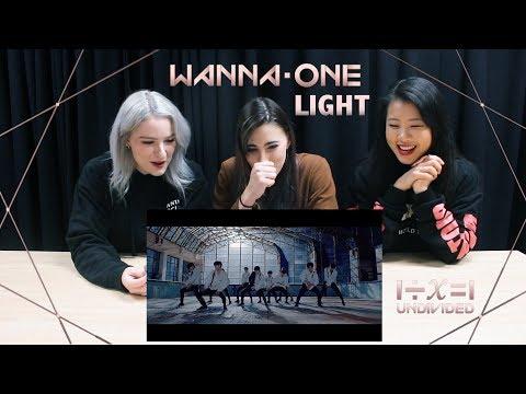 [MV REACTION] LIGHT (켜줘) - WANNA ONE   P4pero Dance